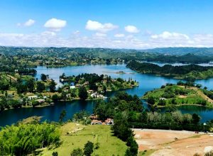 Discover Guatape in Colombia